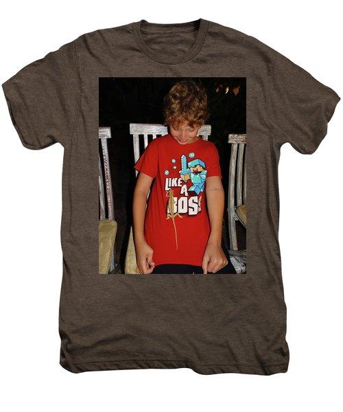 Caring For Chameleons 2 Men's Premium T-Shirt