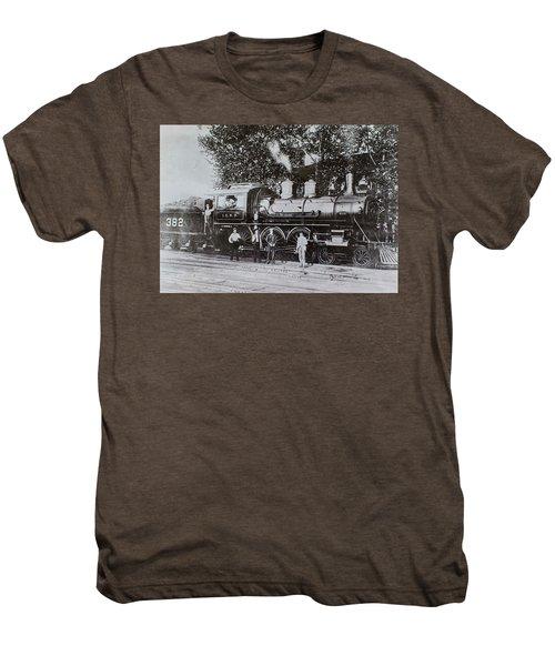 Casey Jones Engine  Men's Premium T-Shirt