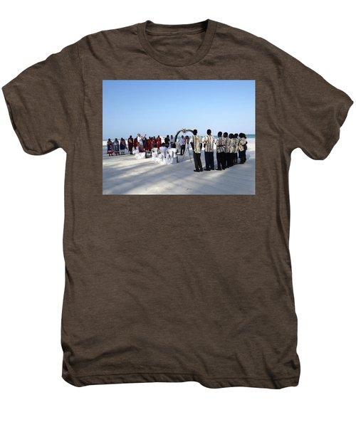 Celebrate Marriage In Kenya Men's Premium T-Shirt