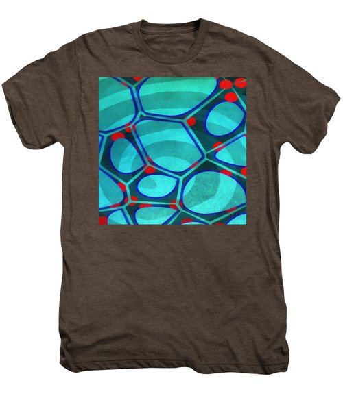 Cell Abstract 6a Men's Premium T-Shirt