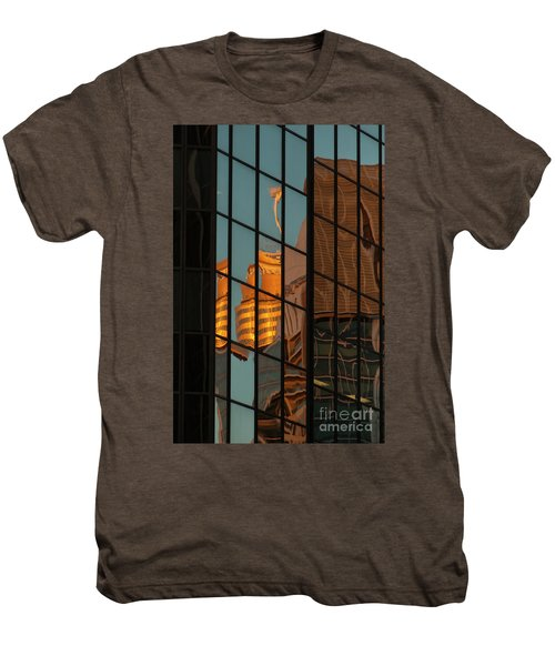 Centrepoint Hiding Men's Premium T-Shirt by Werner Padarin