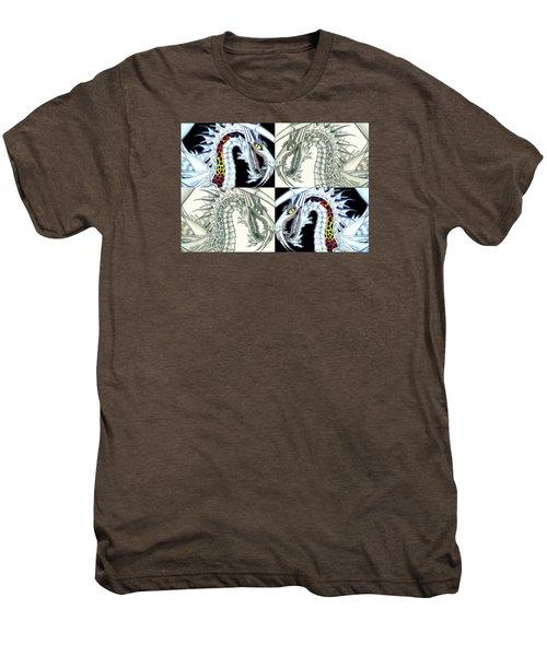 Chaos Dragon Fact Vs Fiction Men's Premium T-Shirt