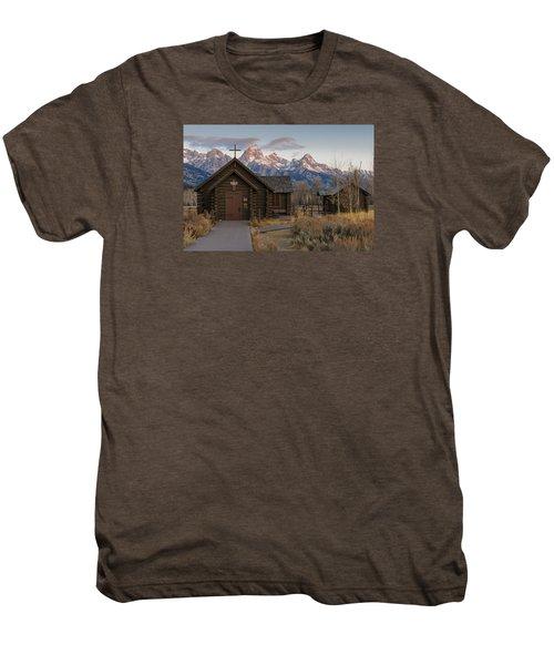Chapel Of The Transfiguration - II Men's Premium T-Shirt