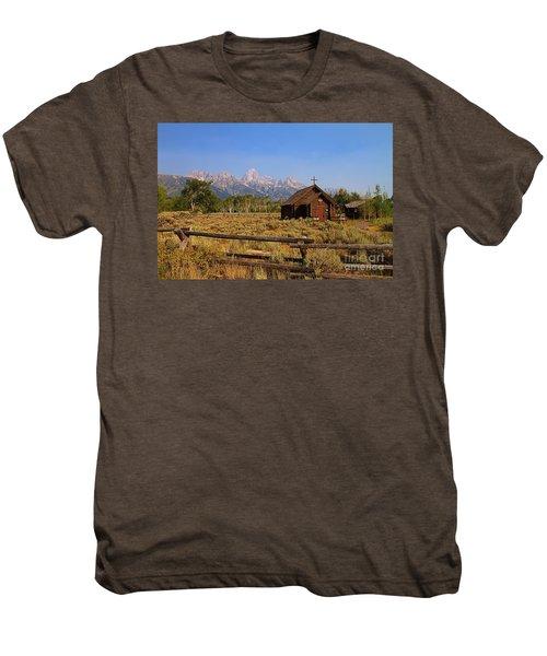 Chapel Of The Transfiguration Men's Premium T-Shirt