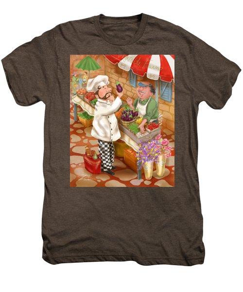 Chefs Go To Market I Men's Premium T-Shirt