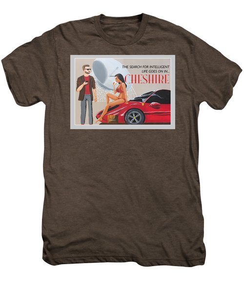 Cheshire Poster Men's Premium T-Shirt