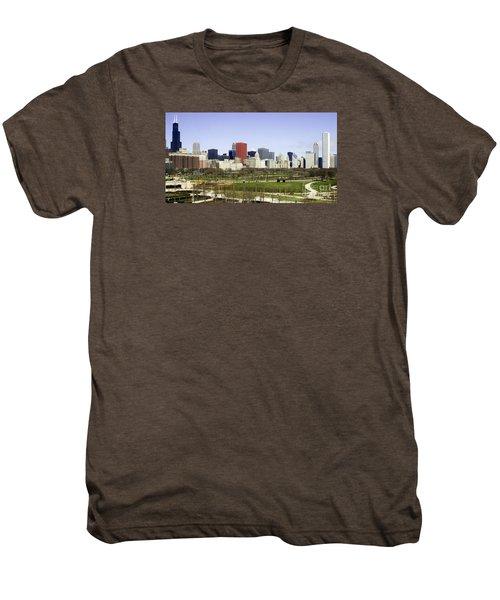 Chicago- The Windy City Men's Premium T-Shirt