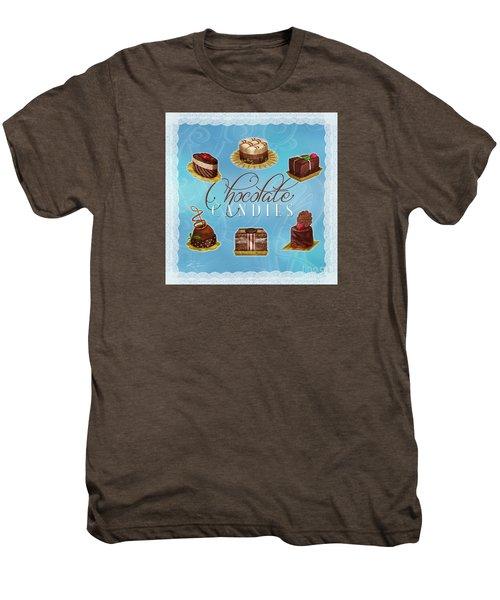 Chocolate Candies Men's Premium T-Shirt