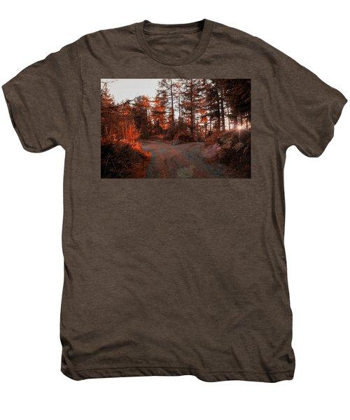 Choose The Road Less Travelled Men's Premium T-Shirt