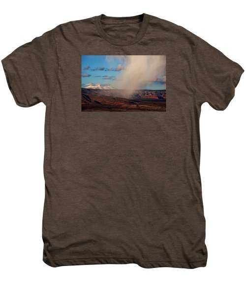 Christmas Day Snow Mix San Francisco Peaks Men's Premium T-Shirt