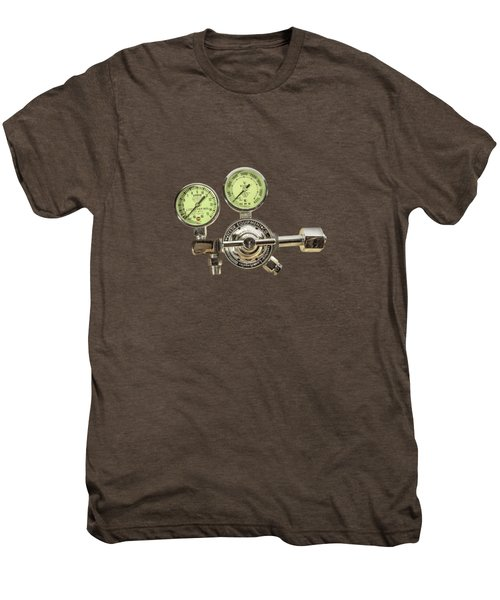 Chrome Regulator Gauges Men's Premium T-Shirt