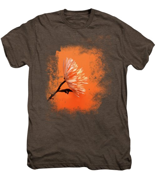 Chrysanthemum Orange Men's Premium T-Shirt