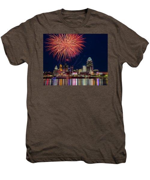 Cincinnati Fireworks Men's Premium T-Shirt