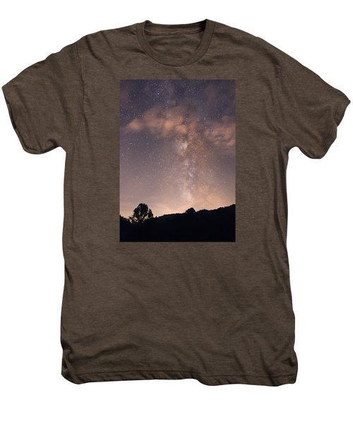 Clouds And Milky Way Men's Premium T-Shirt