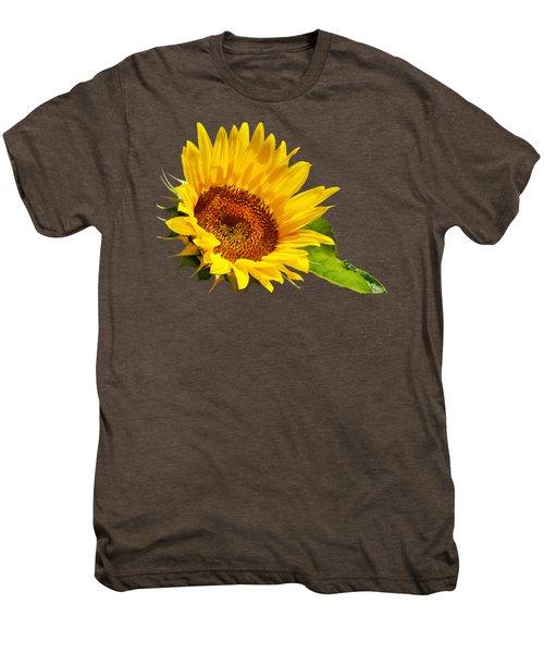 Color Me Happy Sunflower Men's Premium T-Shirt