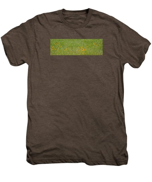 Colorful Field Men's Premium T-Shirt