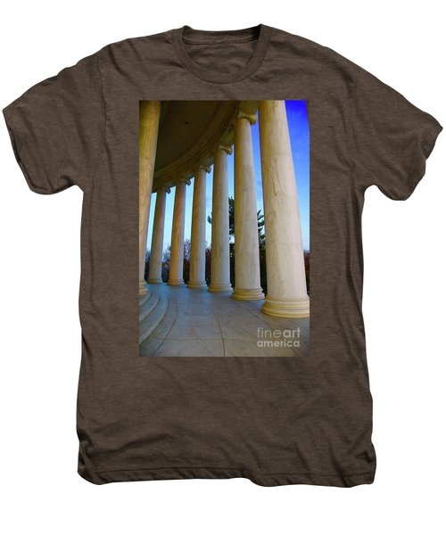 Columns At Jefferson Men's Premium T-Shirt