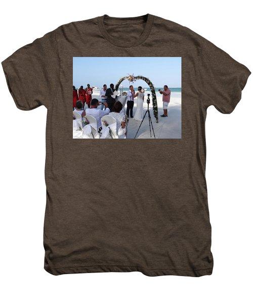 Commitment On The Beach In Kenya Men's Premium T-Shirt