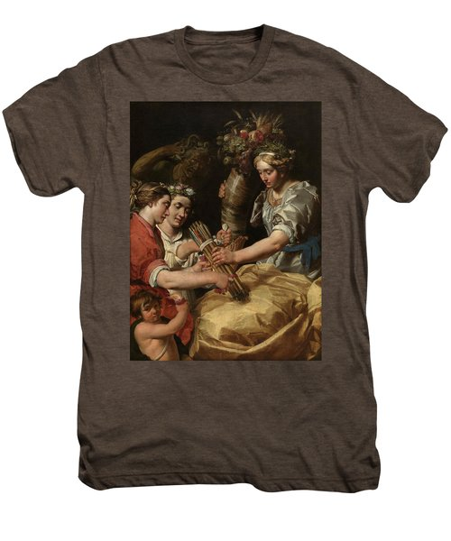 Concord, Charity And Sincerity Conquering Discord Men's Premium T-Shirt