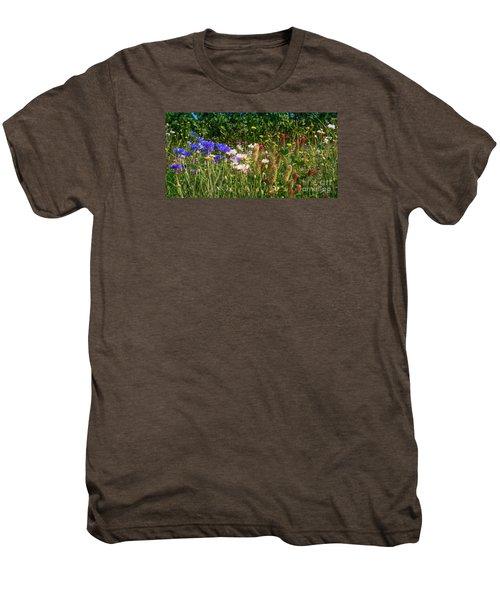 Country Wildflowers Iv Men's Premium T-Shirt