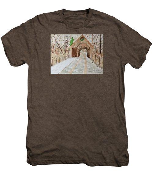 Covered Bridge Men's Premium T-Shirt
