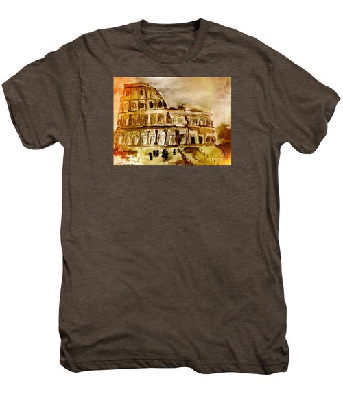 Crazy Colosseum Men's Premium T-Shirt