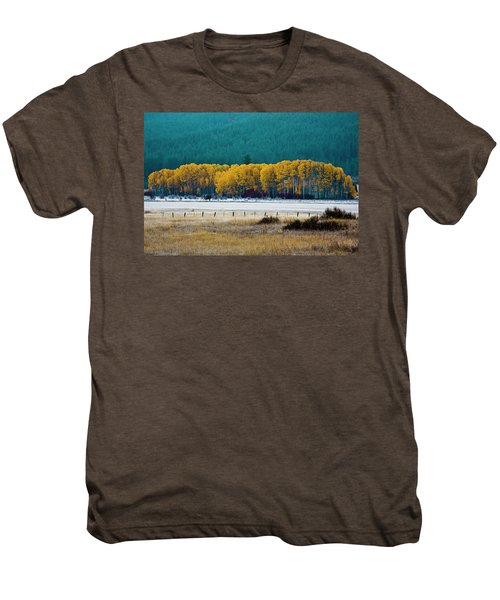 Crisp Aspen Morning Men's Premium T-Shirt