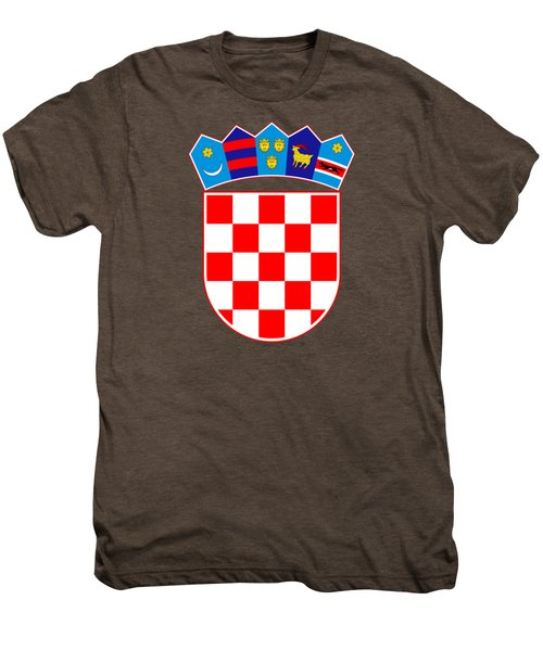 Croatia Coat Of Arms Men's Premium T-Shirt
