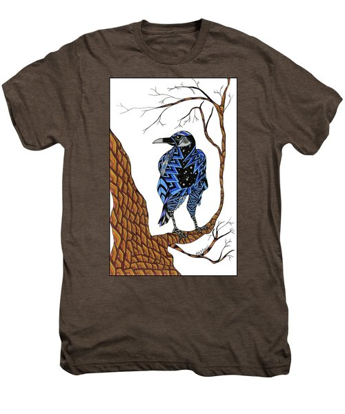 Crow Men's Premium T-Shirt