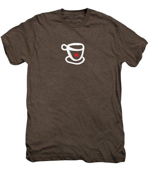 Cup Of Love- Shirt Men's Premium T-Shirt