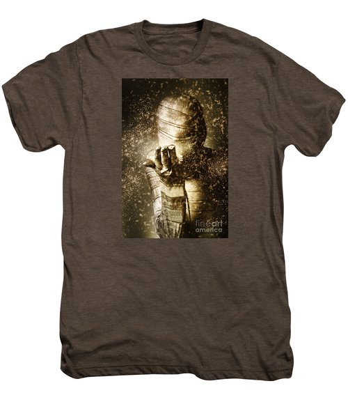 Curse Of The Mummy Men's Premium T-Shirt by Jorgo Photography - Wall Art Gallery