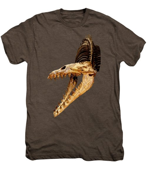 Cynthiacetus Skull In Black Men's Premium T-Shirt