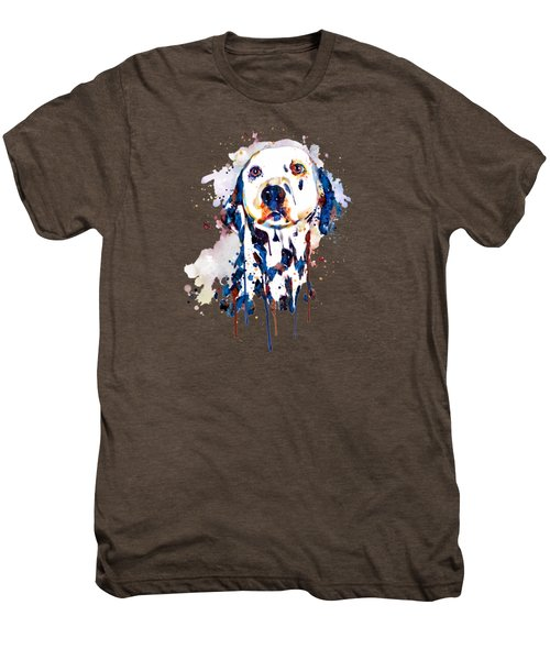 Dalmatian Head Men's Premium T-Shirt