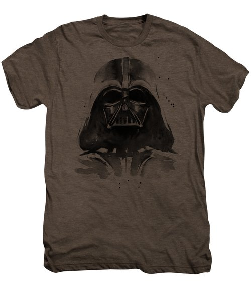 Darth Vader Watercolor Men's Premium T-Shirt