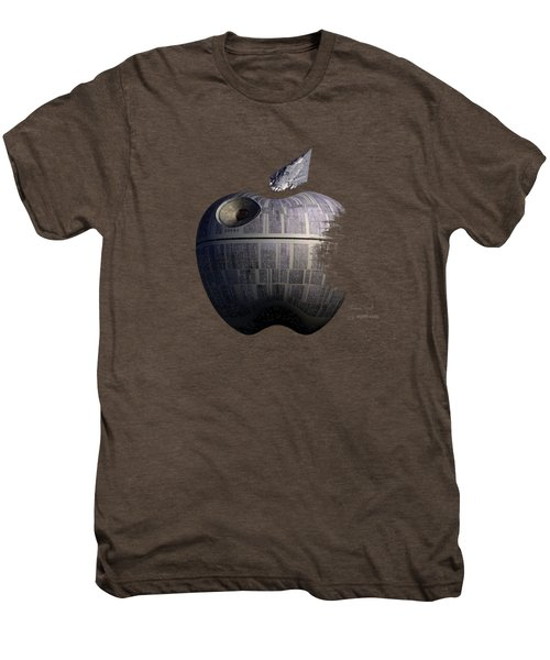 Death Star Apple Men's Premium T-Shirt