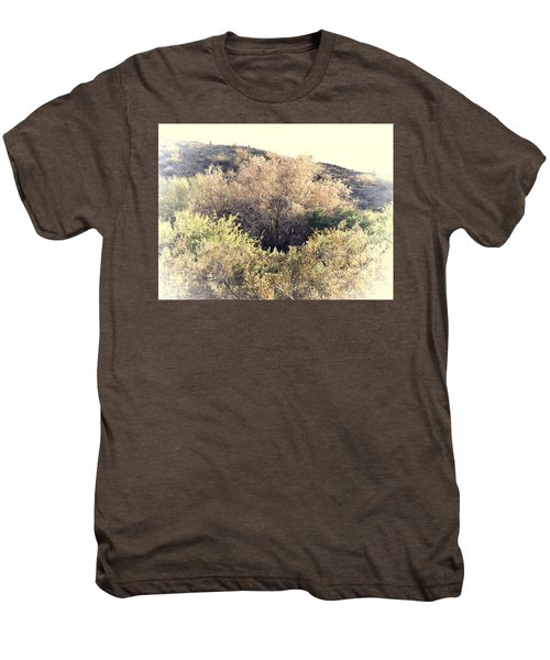 Desert Ironwood Afternoon Men's Premium T-Shirt