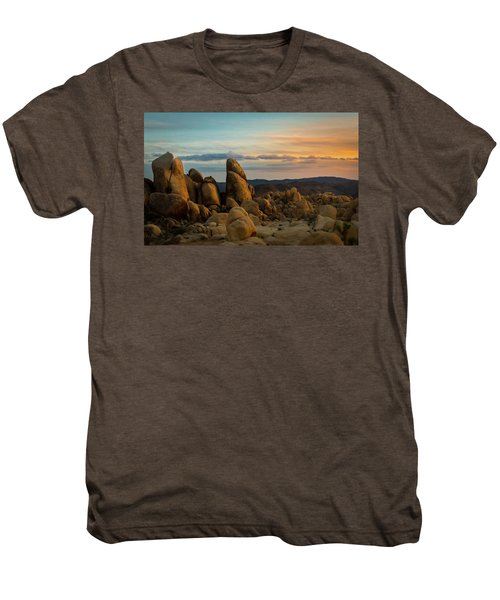 Desert Rocks Men's Premium T-Shirt