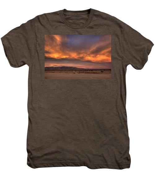 Desert Sky Burning Men's Premium T-Shirt