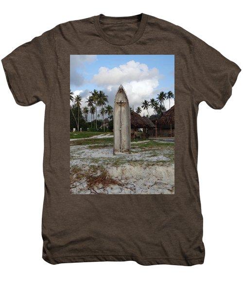 Dhow Wooden Boat As A Beach Shower Men's Premium T-Shirt