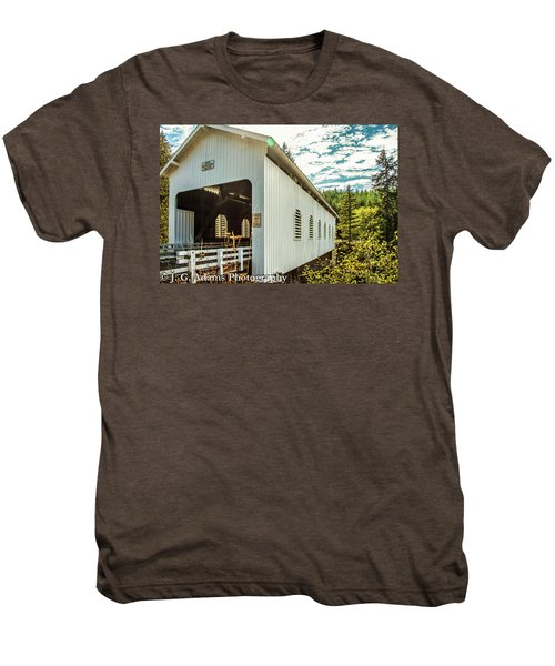 Dorena Covered Bridge Men's Premium T-Shirt