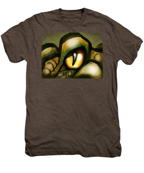 Dragon Eye Men's Premium T-Shirt by Kevin Middleton