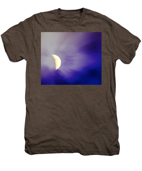 Aries Moon During The Total Lunar Eclipse 3 Men's Premium T-Shirt
