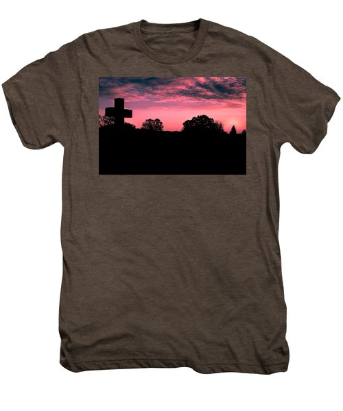Early On The Hill Men's Premium T-Shirt