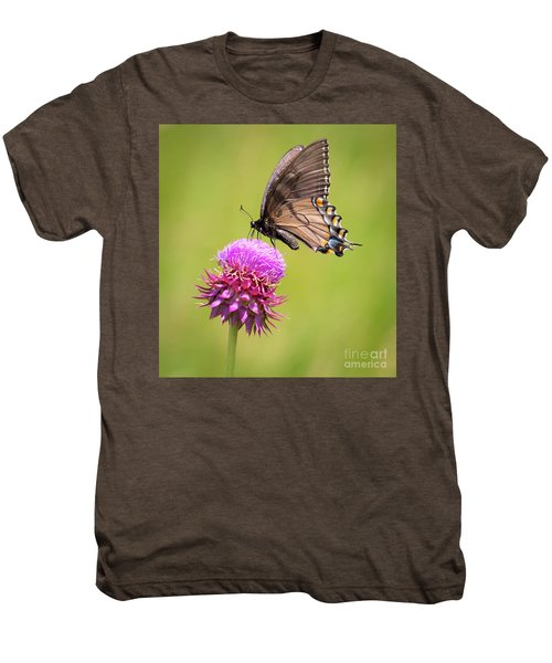 Eastern Tiger Swallowtail Dark Form  Men's Premium T-Shirt