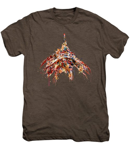 Eiffel Tower Watercolor Men's Premium T-Shirt