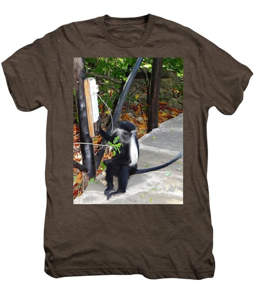 Electrical Work - Monkey Power Men's Premium T-Shirt
