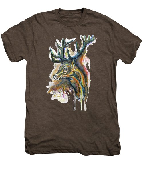 Elk Head Men's Premium T-Shirt