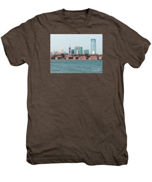 Ellis Island And Nyc Men's Premium T-Shirt