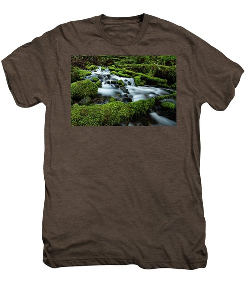 Emerald Flow Men's Premium T-Shirt