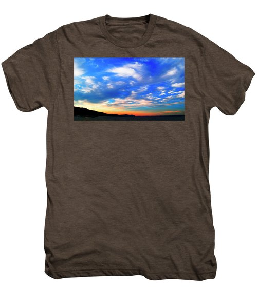 Estuary Skyscape Men's Premium T-Shirt